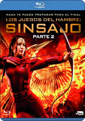 Los Juegos Del Hambre Sinsajo Parte 2 Blu Ray De 8435175970094