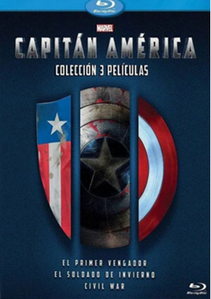 la trilogia de capitan america (blu-ray)-8717418487867