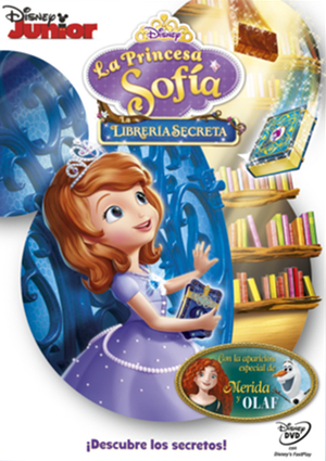 la princes sofia: la libreria secreta (dvd)-8717418482770