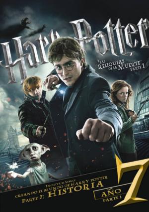 harry potter y las reliquias de la muerte parte 1 (dvd)+libro-8420266002518