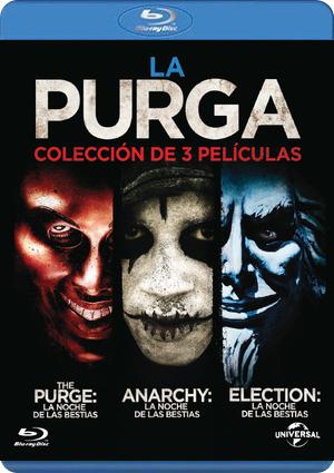 3 peliculas de la purga
