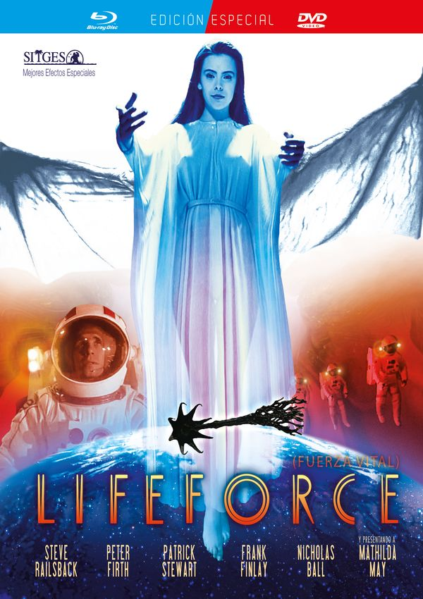 lifeforce (fuerza vital) (blu-ray+dvd)-8421394407398