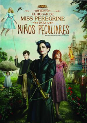 el hogar de miss peregrine para niños peculiares (dvd)-8420266004864
