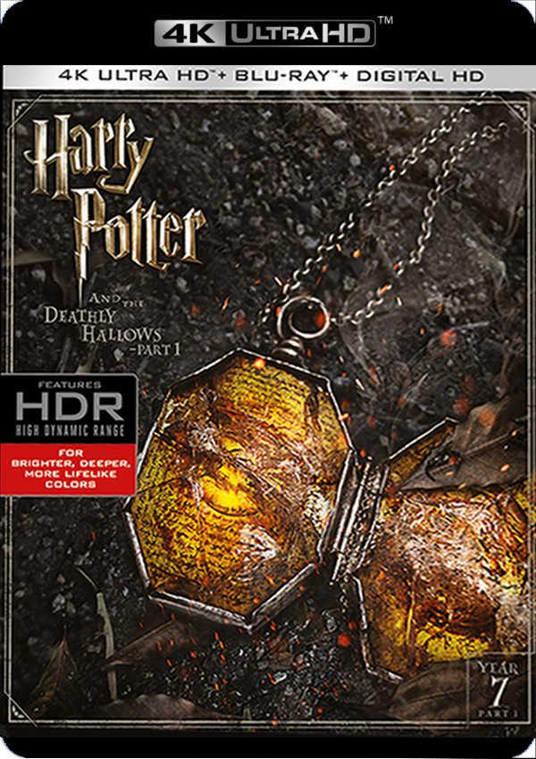 harry potter y las reliquias de la muerte parte 1 - 4k uhd + blu ray --8420266007353