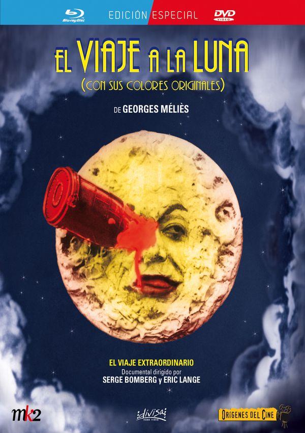 el viaje a la luna / el viaje extraordinario - blu ray+dvd --8421394409170