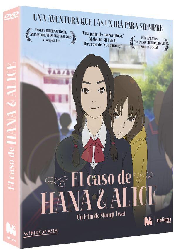pack hana & alice (el caso de hana y alice + hana y alice) -dvd--8437016602096