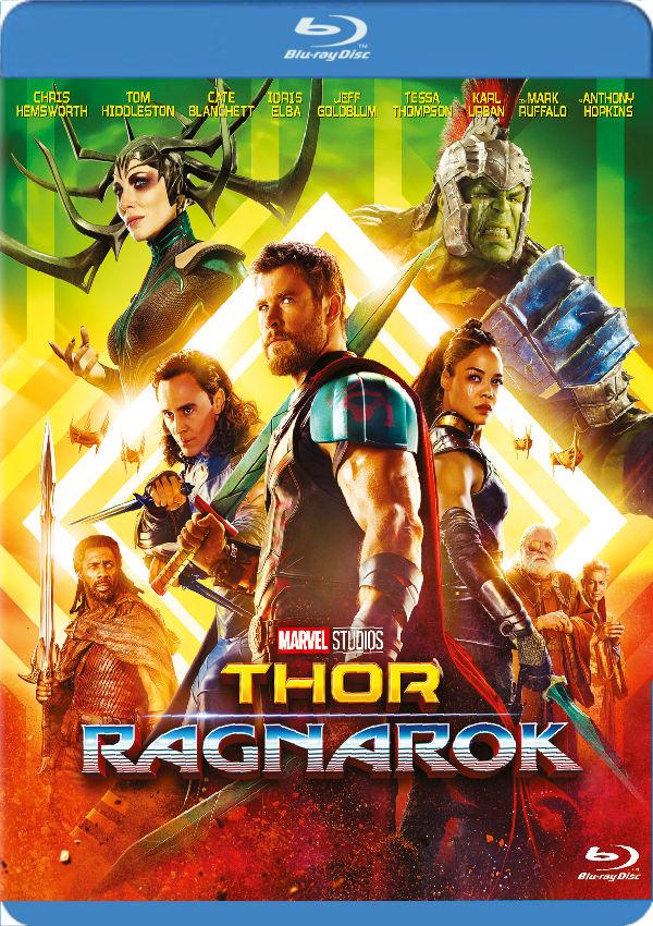 thor: ragnarok - blu ray --8717418522247