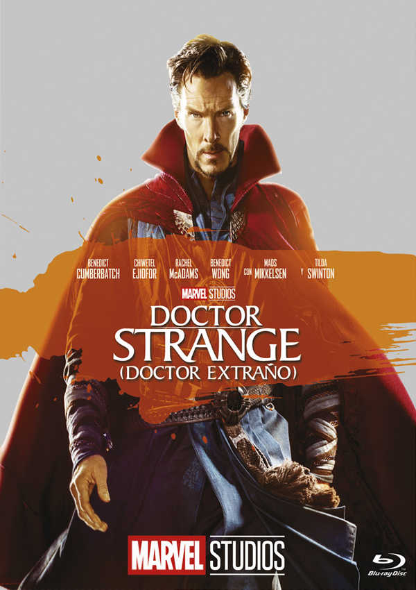 doctor strange (doctor extraño) - blu ray --8717418518264