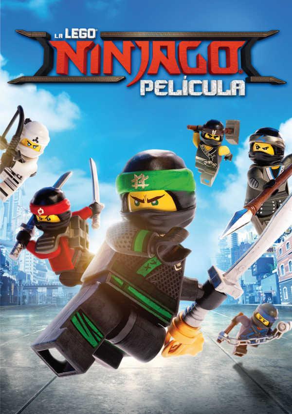 La Lego Ninjago Pelicula Dvd De Charlie Bean 8420266012487