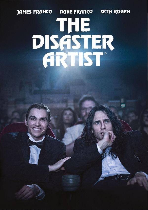 the disaster artist - dvd --8420266014641