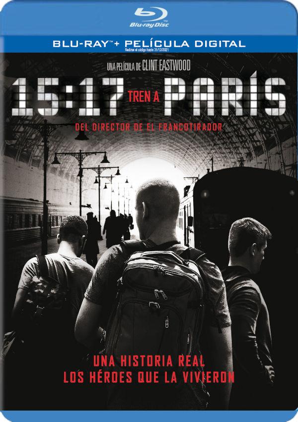 15:17 tren a paris - blu ray --8420266016157