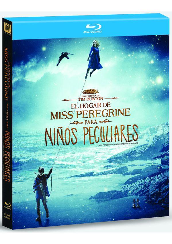 el hogar de miss peregrine para niños peculiares digibook   - blu ray --8420266016348