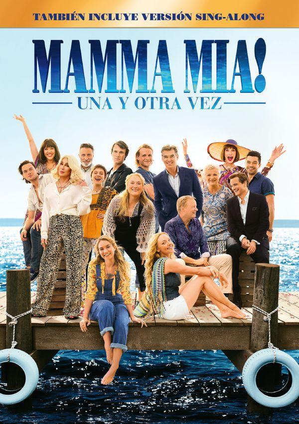 mamma mia! una y otra vez - dvd --8414533117197