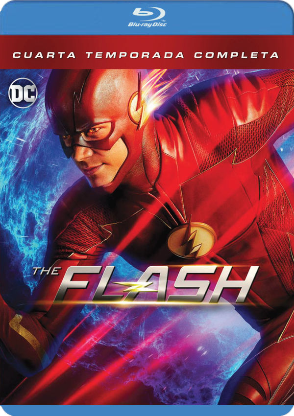 flash - blu ray -temporada 4-8420266018618