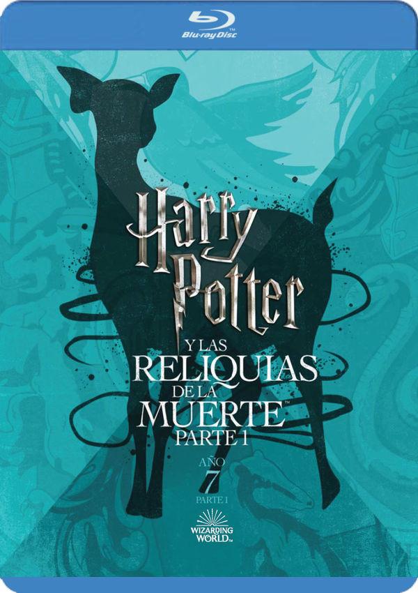 harry potter y las reliquias de la muerte parte 1. ed. 2018 - blu ray --8420266018991