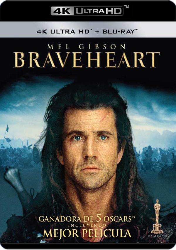 braveheart - 4k uhd + blu ray --8420266018465