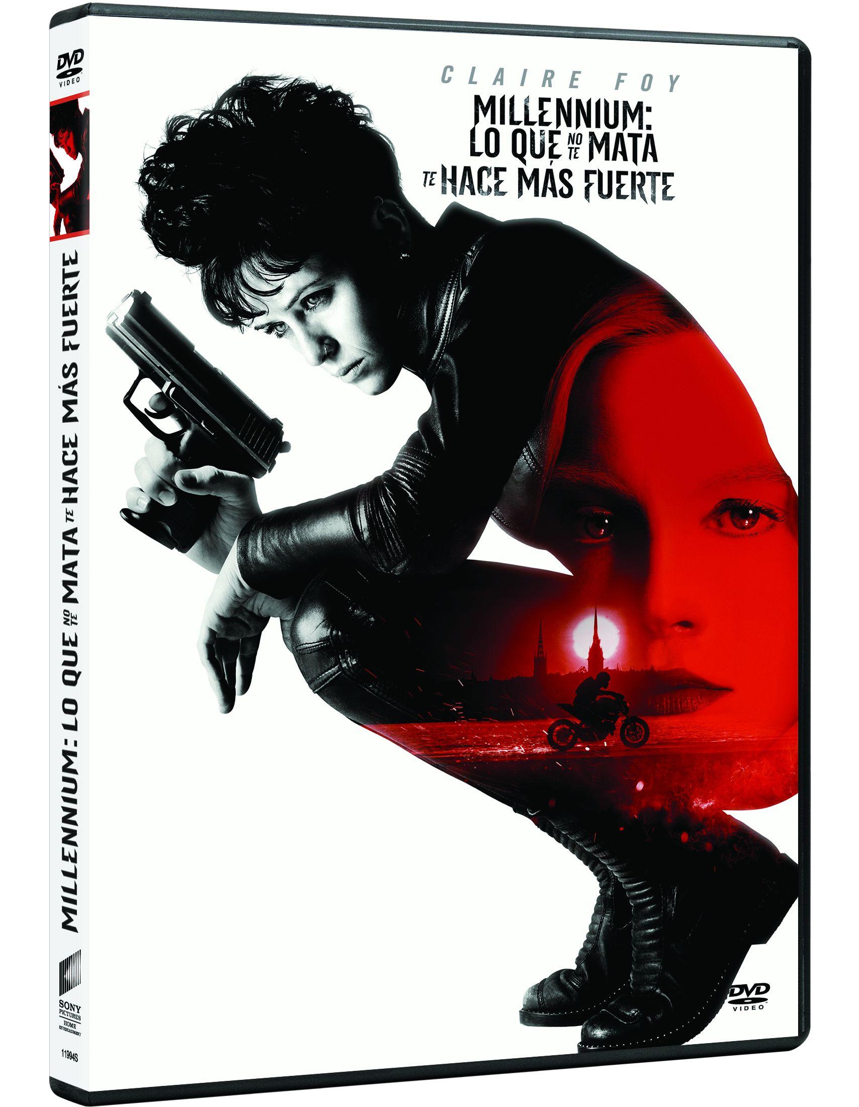 millennium: lo que no te mata te hace más fuerte - dvd --8414533119948