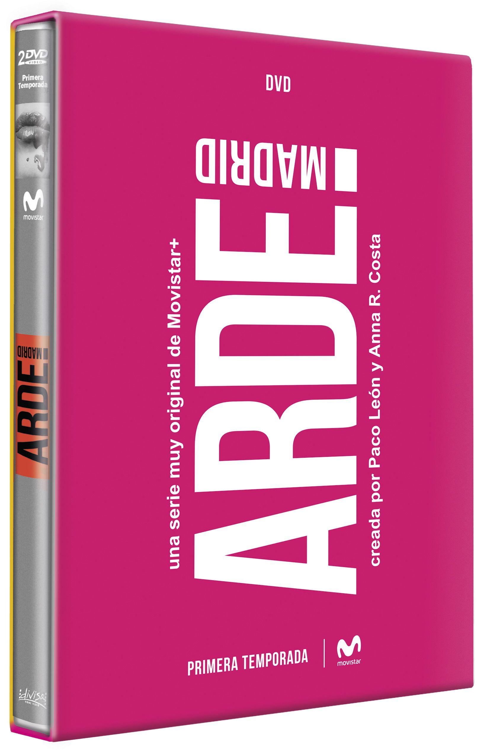 arde madrid - dvd - temporada 1-8421394552135