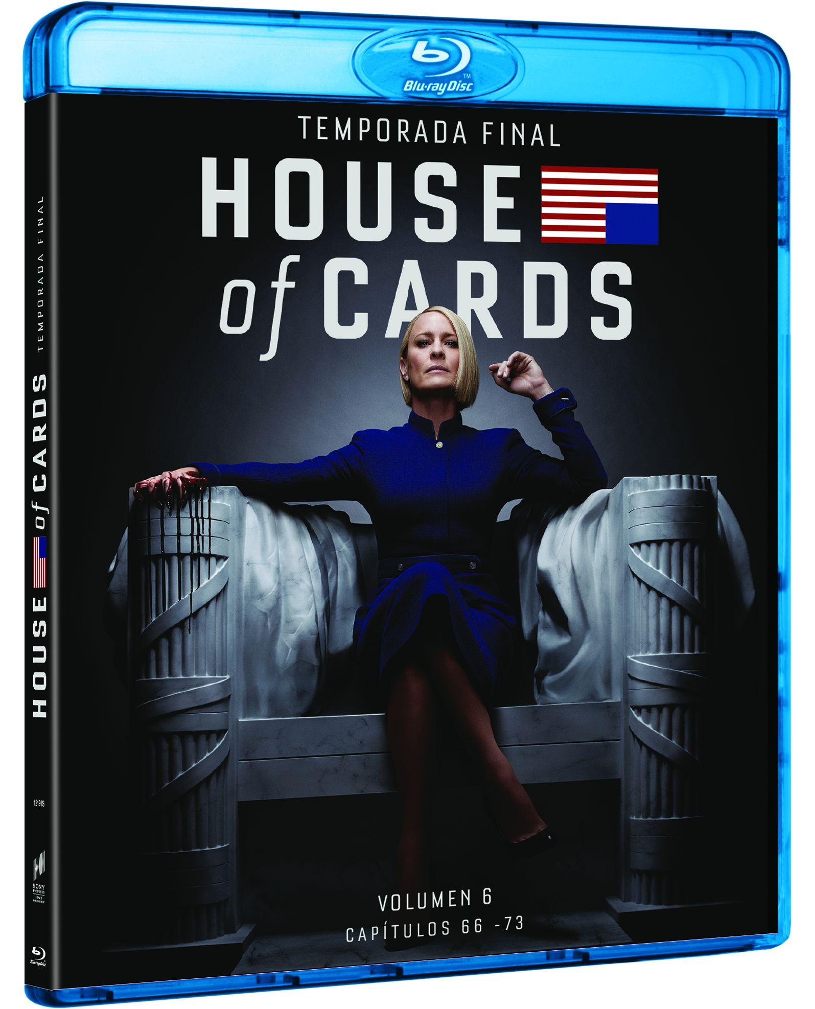 house of cards - blu ray - temporada 6-8414533121910