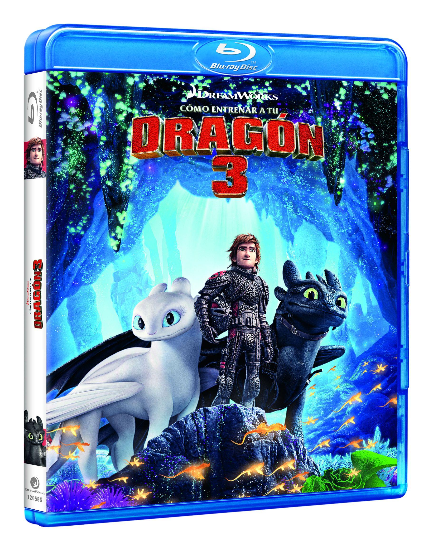 como entrenar a tu dragon 3 - blu ray --8414533120586