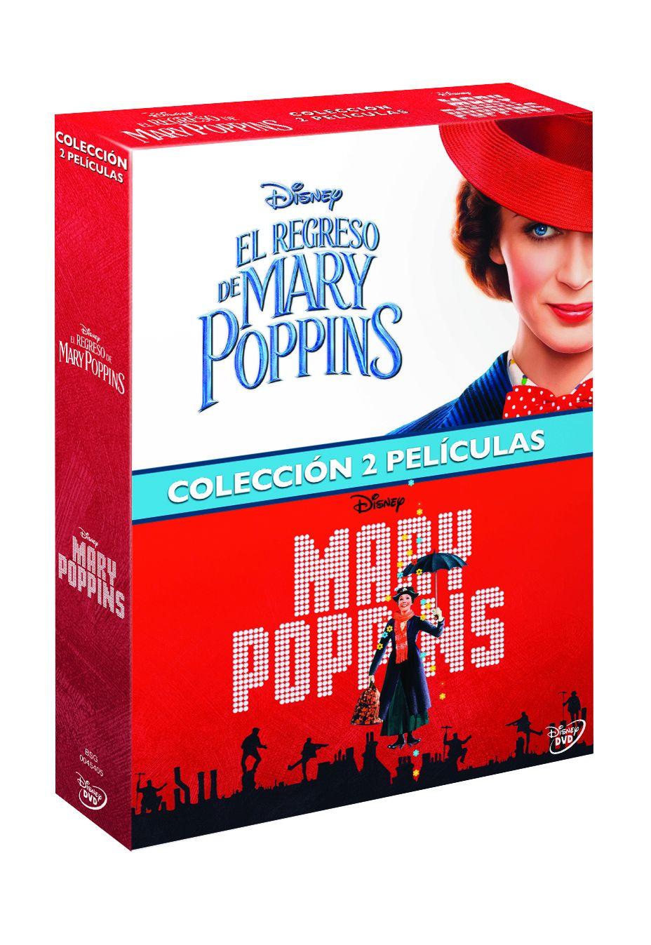 pack mary poppins + el regreso de mary poppins - dvd --8717418542351