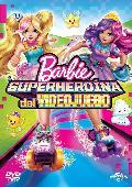barbie superheroina del videojuego - dvd --8414533103985