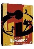 los increibles 2 - blu ray - ed.steelbook-8717418530822